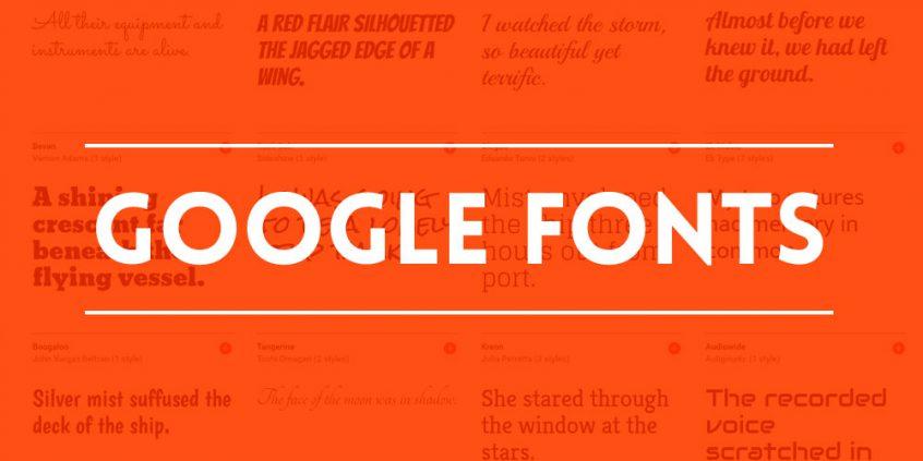Descargar e instalar Google Fonts en tu sistema operativo