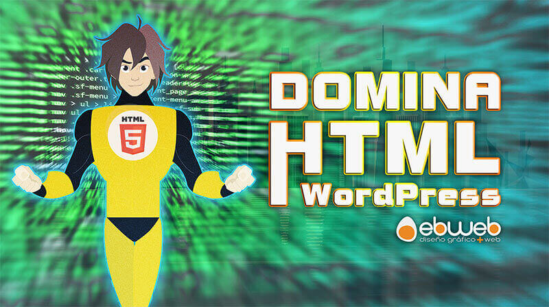 Tutorial intensivo para aprender HTML WordPress