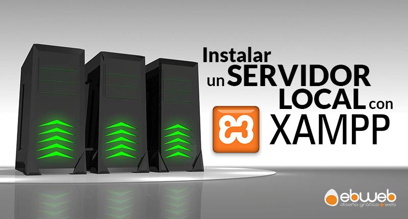 Instalar un servidor local con Xampp