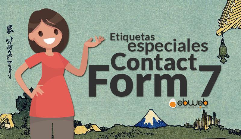 Las etiquetas especiales de Contact Form 7 permiten enviar información extra desde el formulario de correo